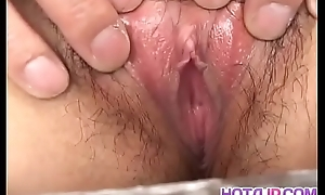 Asian masturbation fantasize with hot Yu Aine - Up at hotajp com