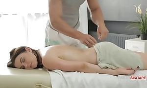 Busty Sis Thinks Her Stepbrothers Hands Are First-rate &amp_ His Dick is small-minded less