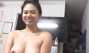 Brunette Asian slut