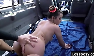 XXX big aggravation asian pessimistic gets fucked with reference to the auto for money