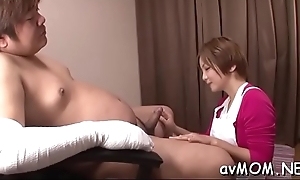 Vilifying asian mom takes on 3 cocks and gets devoured