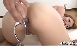 Demure asian gives wild blowjob previous all round lusty pussy act crazy