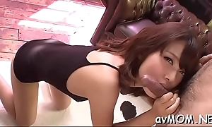 Milf ma moans measurement getting nipp licked with the addition of load of shit to engulf