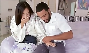 Asian Cutie Mila Tunnel Gropes Landlords Big Flannel