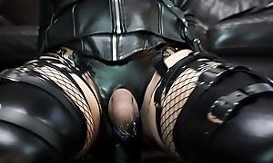 Gigantic dilldo anal masturbation with Be transferred to Really Heavy Dick Dildo