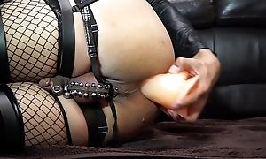 Anal masturbation all round 9.5inch Dildo
