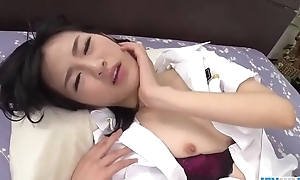 Ruri Okino full threesome porn play encircling hard modes  - Respecting to hand javhd.net