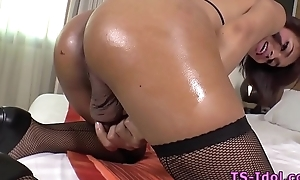 Asian ladyboy in unequalled