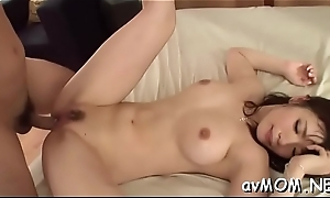 Achates milf takes large dildo with ass and cunt while she moans