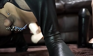 Deep anal assail with The Naturals 12 Toady Dong with Balls