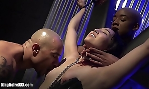 King Noire &amp_ Ashley Paige make Dragona Cum