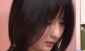 Megumi Haruka wants cum on face and heart of hearts after blowjob  - On every side at one's disposal Slurpjp.com
