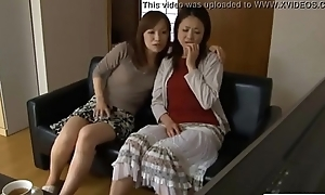 LesbianCums.com: Korean Stepmom Seduced Wide of Faggot Teen