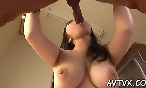 Hot oriental cowgirl plus oral