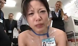 Japanese OL humiliated concerning food