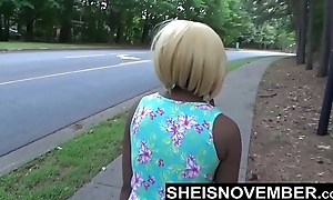 Risky Into done with Street Blowjob &amp_ Big Bore Ebony Booty Out For Stranger Msnovember