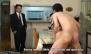 Japanese Cuckold Shared Spliced Fucked from Doggy Exhibit