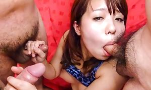 MiyuKaburagi gives permanent cocks blowiesexpertly