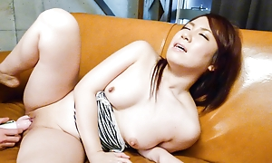 Cute Sakura Ooba likes her lusty desires pleased