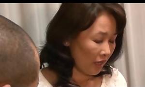 Oriental hot moms enjoy hardcore having it away and fingering