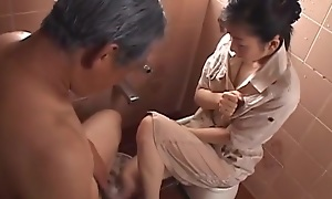Japanese Wife Widow takes care be useful to Father-in-Law (MrBonham)