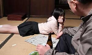 Mai Shimizu in Mai Shimizu had a lecherous permit in the matter of her tasteless step- father - AviDolz