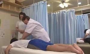 Mad Japanese girl Ayumi Iwasa, Natsume Inagawa, Yu Anzu in Amazing Massage, Doggy Style JAV movie