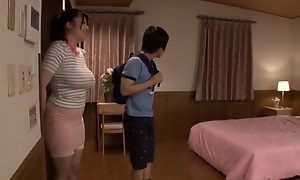 Exotic Japanese hew in Sultry Nipples, Threesome JAV movie