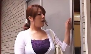 Silly Japanese whore Sumire Shiratori all over Unbelievable Wife, Big Soul JAV video