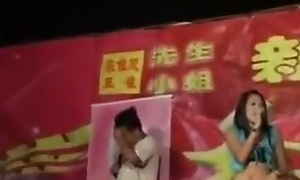 Chinese cookie nude dance on the wedding