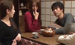 Fabulous Japanese model Akari Minamino, Marin Nagase in Incredible Wife JAV movie