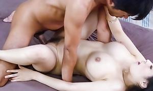 Overwhelming Japanese model Kyouko Maki in Unfamiliar JAV uncensored Hardcore movie
