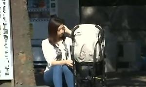 Handsome Asian minx enjoys X massage