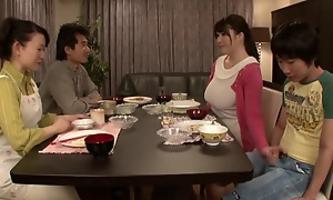 Foreign Japanese model in Senseless Wife, HD JAV movie