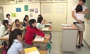 Yui Kasugano, Risa Omomo, Rin Momoi, Marie Konishi there 205X Year Copulation Learning part 1.1