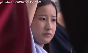 Horny Japanese inclusive Miku Abeno, Mao Hamasaki, Riko Honda in Crazy Public, Cunnilingus JAV clip