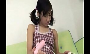 A youthful Oriental wholesale is playing with a sex toy, lickin from http://alljapanese.net