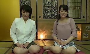 Alien Japanese hooker in Best Lesbian, Mature JAV reinforcer