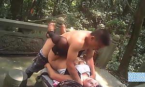 Chubby Mummy Asian Prostitute Bareback Outdoors