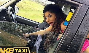 Fake Taxi - Oriental Marina Maya gets a taste be advantageous to a Big Black Cock