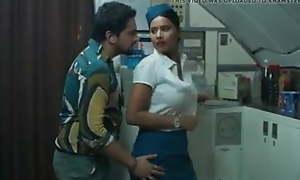 Air hostess sex... India
