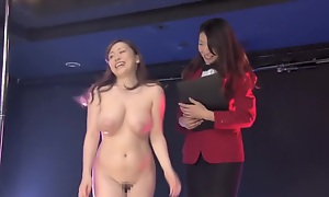 Horny Japanese floosie in Hottest Public, HD JAV integument