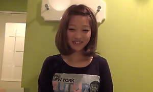 Japanese Girl Showing Will not hear of Slit