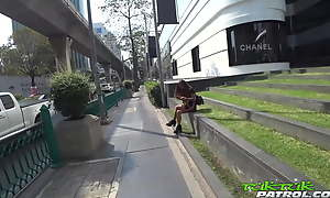 TUKTUKPATROL - Busty Thai Beauty Leaking Spunk After Pounding