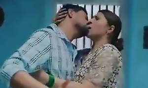 Hot indian giving a kiss Web series