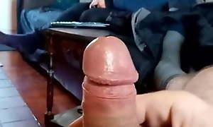 Mummy witnesses my hard cock