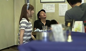 Crazy Japanese chick not far from Incredible Public, Tie the knot JAV clip