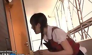 Japanese 18yo idol meets older fan at his home