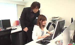 Yumi Maeda fucked at work - More at Japanesemamas.com