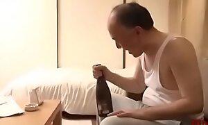 Daddy Fucks Hot Youthful Girl Take an interest in Akin in Neighbor-Japan Asian-Part4